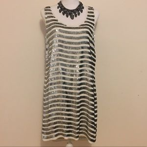 French Connection Serpent Sequin Dress size 10